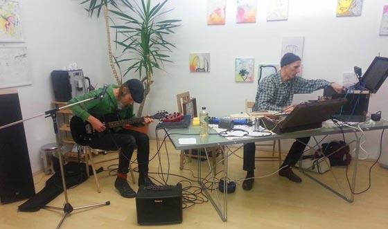 kraks - live at Grätzlgalerie