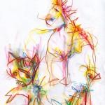 Zeichnung Martin Kratochwil - eins-zwei-drei